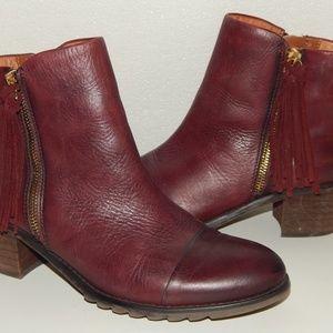 PIKOLINOS arcilla fringe ankle boots 38 7.5
